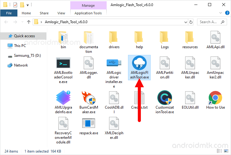 Amlogic Flash Tool Open