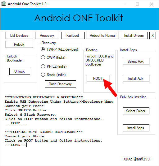 AndroidOneToolkit Root