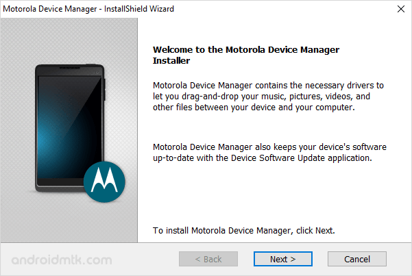 Download Motorola Device Manager (all versions)