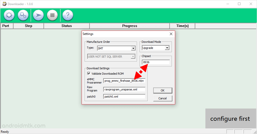 How to use QcomDloader Tool