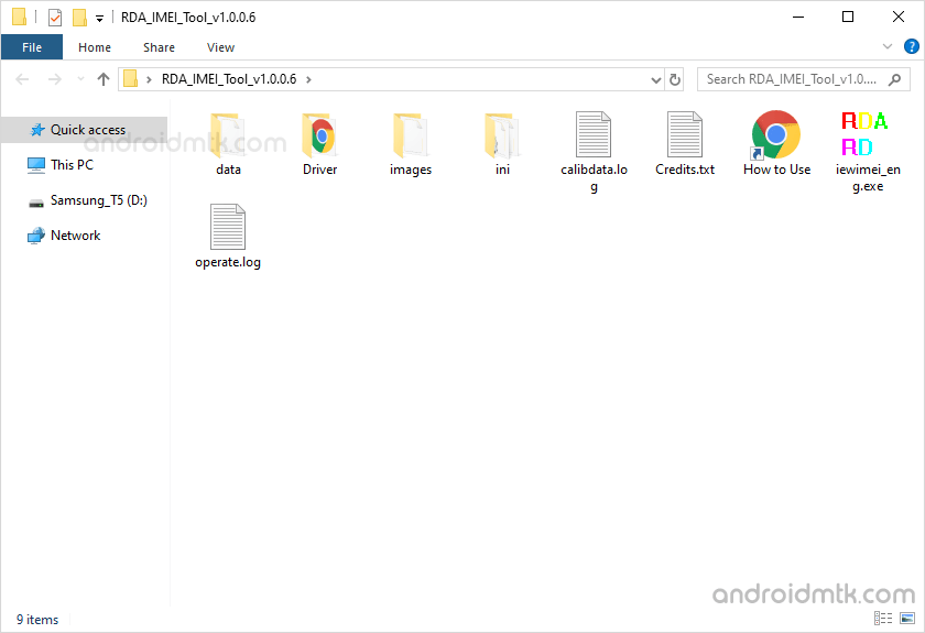 RDA IMEI Tool Files
